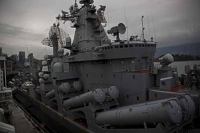 Hệ thống tên lửa bên hông của Varyag