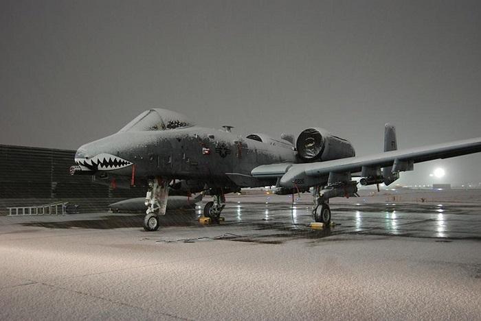 Thần sấm A-10 Thunderbolt II cũng chịu chung số phận