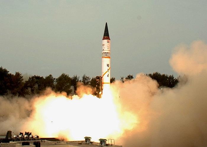 Lực lượng tên lửa chiến lược Ấn Độ thử tên lửa 3.000 km Agni-III