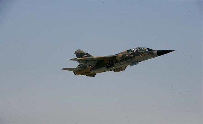 Cận cảnh chiến cơ tấn công Mirage F1 của Iran