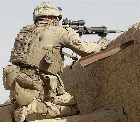 Lực lượng lính thủy đánh bộ Mỹ làm nhiệm vụ ở Afghanistan