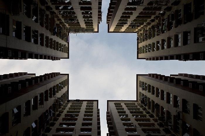 Các tòa nhà chung cư ở Hongkong
