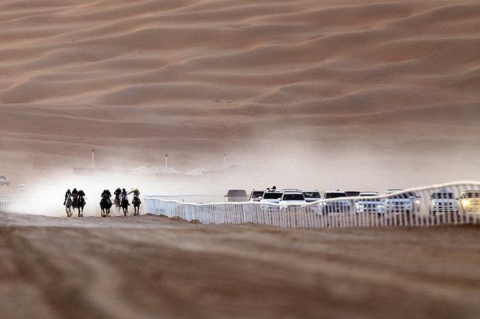Đua ngựa trong sa mạc ở UAE - Tiểu vương quốc Ả rập Thống nhất
