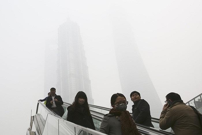 Khói bụi kinh hoàng ở Thượng Hải, Trung Quốc