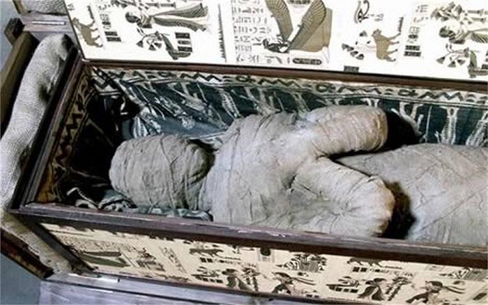 Một cậu bé người Đức đã phát hiện ra một xác ướp Ai Cập băng bó bên trong một cỗ quan tài bằng gỗ cũ trong căn gác của bà ngoại. Bên trong một quan tài là một xác ướp hoàn chỉnh, tuy nhiên, các chuyên gia cho rằng đây là  một bản sao xác ướp của người Ai Cập cổ.