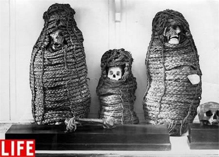 Các nhà khảo cổ cho rằng đây là các  xác ướp người Inca, bao gồm cả trẻ em, đã hy sinh theo một phương thức tôn giáo cho thần núi Apus.