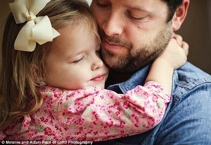 Mong ước của tôi là muốn nhìn thấy con gái yêu lớn lên một cách khỏe mạnh và hạnh phúc.