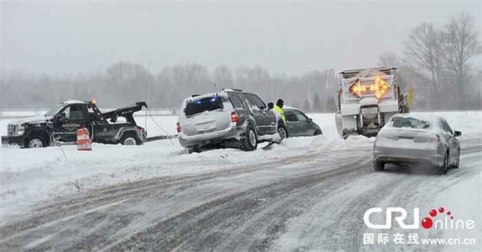 Bão tuyết dữ dội ở Mỹ khiến 11 người chết