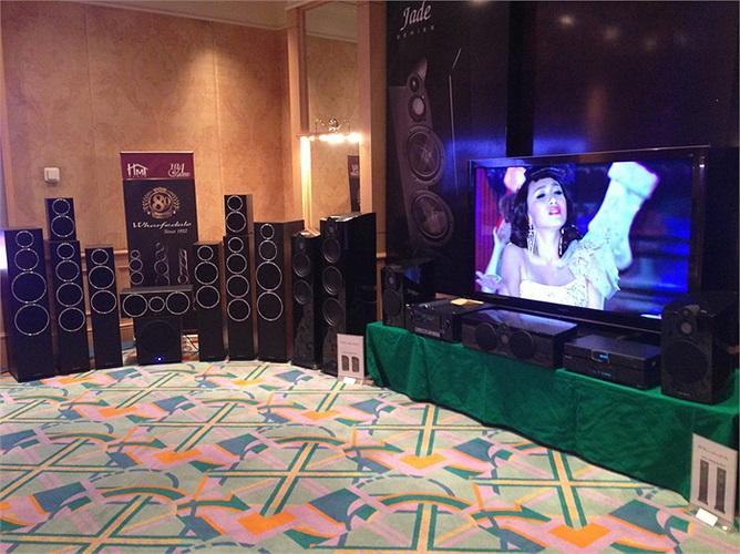 Hệ thống âm thanh chuyên biệt dành cho giải trí của Jade