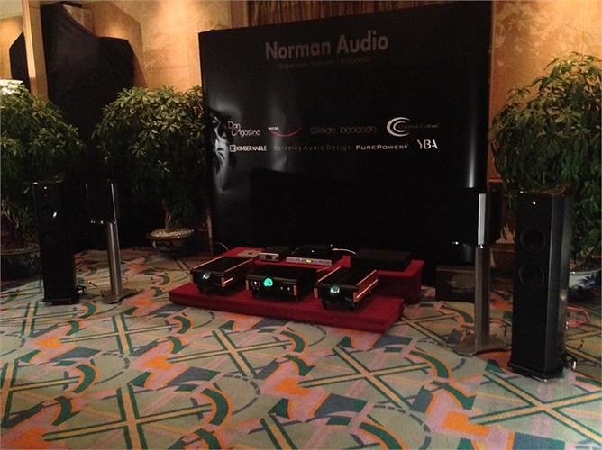 Hệ thống âm thanh của Norman Audio