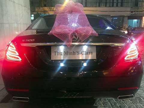 Mercedes S-Class Thu Minh