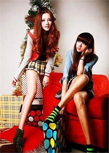 Bộ ảnh chụp chung của hai chị em đang tiếp tục gây sốt tại Trung Quốc.
