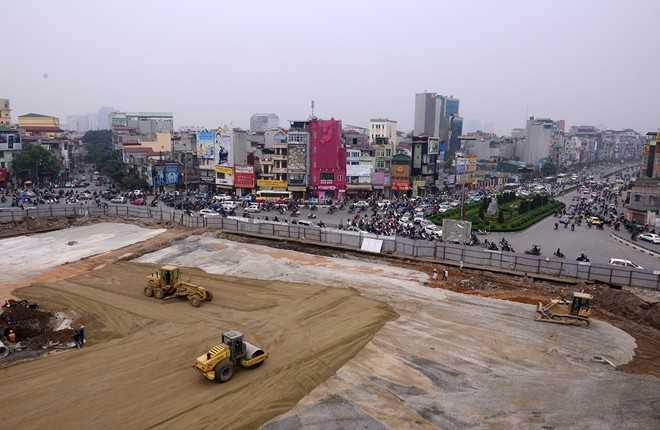Đoạn đường vành đai 1 Ô Chợ Dừa - Hoàng Cầu dài 547m (Ảnh: Internet)