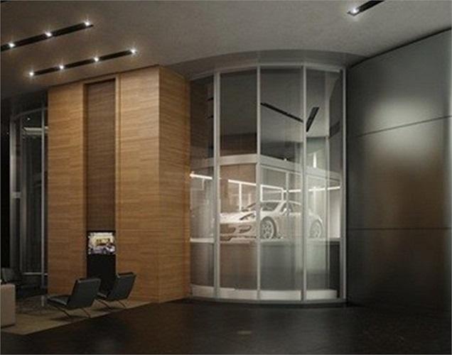 Các tỷ phú có thể lái thẳng xe của mình vào thang máy mà không cần phải đứng đợi ở sảnh.