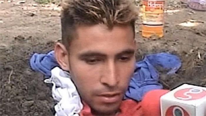 Alexander Mandón, một thanh niên 20 tuổi người Colombia bị sét đánh 4 lần chỉ trong vòng 6 tháng.
