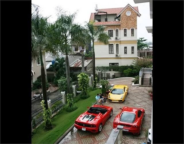 Hình ảnh một vài chiếc siêu xe trong bộ sưu tập khổng lồ của Quốc Cường.