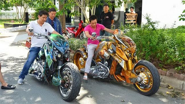 Cường Đô la cũng có thú chơi motor 'khủng'.