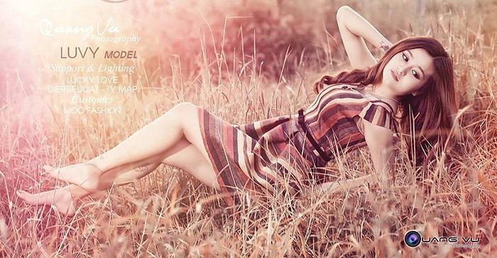Thùy Vy cũng là một người mẫu ảnh có tiếng tại Gia Lai