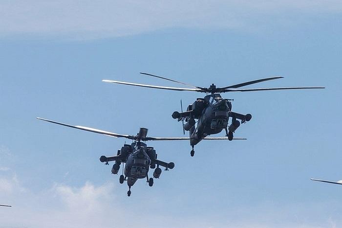 Tuy nhiên phải tới tháng 12/2008, Nga mới hoàn tất các cuộc thử nghiệm cấp quốc gia đối với loại trực thăng này và đưa vào trang bị cho quân đội theo một sắc lệnh của Tổng thống Nga vào ngày 15/10/2009