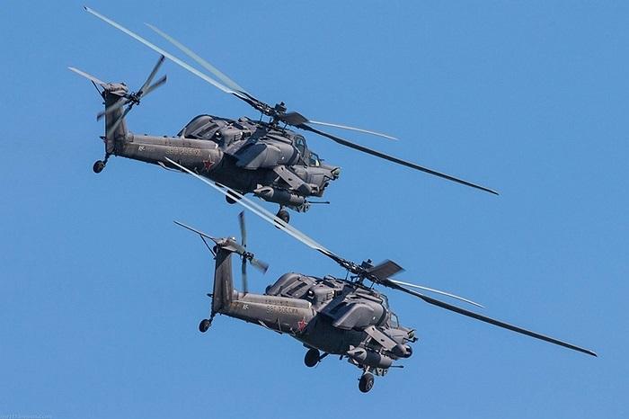 Phiên bản Mi-28N nâng cấp đã được khắc phục nhược điểm về tốc độ và tốc độ tối đa hiện tại là 450 km/h
