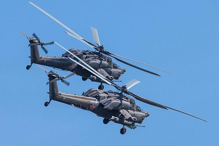 Ngoài ra, tầm bắn của các loại vũ khí trên trực thăng như súng máy và tên lửa tiếp tục được nâng cấp để tăng tầm bắn