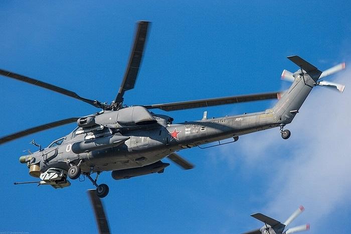 Pháo và súng máy của Mi-28N hiện có tầm với 2,5 km, trong khi tên lửa có tầm bắn 8 km