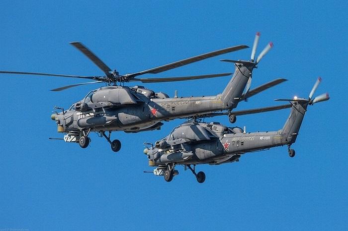 Mi-28N hiện là một trong 3 loại trực thăng tấn công chủ lực của Nga, cùng với Mi-35 và Ka-52 Alligator