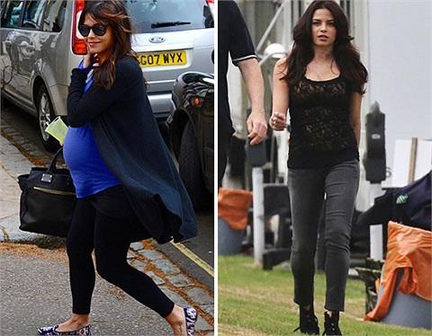 Jenna Dewan gây bất ngờ không kém khi sau 2 tháng có cô con gái Everly thì người đẹp đã gọn gàng, quyến rũ trên phố như thế này.
