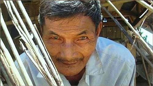 Ông Thái Ngọc ở huyện Nông Sơn, tỉnh Quảng Nam, Việt Nam không ngủ từ năm 1973 đến nay.