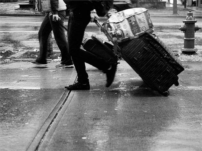 Người Colombia xách theo vali đi mọi nơi vào những ngày đầu năm với hy vọng một năm đầy ắp những chuyến du lịch.