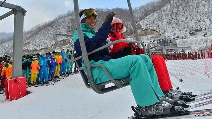 Khu trượt tuyết xa xi nhất Triều Tiên