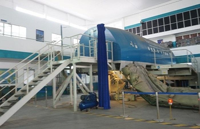 Mô hình máy bay Airbus phục vụ công tác huấn luyện phi công và tiếp viên hàng không