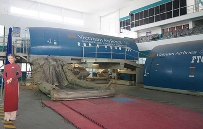 Một góc của Trung tâm huấn luyện bay.