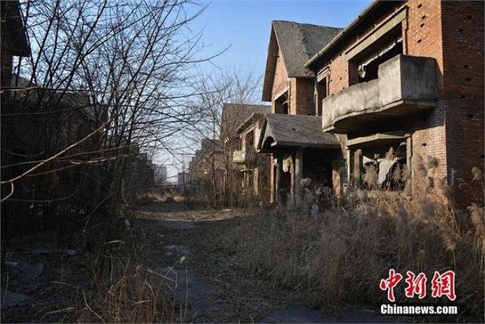 Ở quận Triều Dương (Bắc Kinh),có 46 biệt thự đã bỏ hoang khoảng 20 năm nay. Những biệt thự này nằm trên khu đất rộng cả nghìn m2.