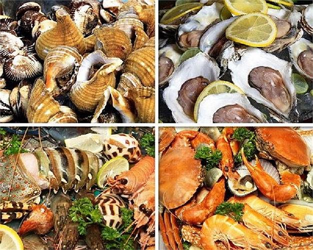 Hải sản cho làn da mịn màng, sáng bóng và rạng rỡ: Cá hồi, cá ngừ hay cá mòi là những thực phẩm rất tốt cho làn da.