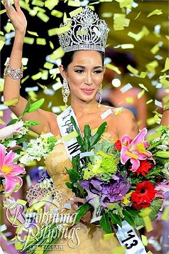 Bea Rose Santiago là đại diện cho Philippines đến với cuộc thi Hoa hậu Quốc tế lần thứ 53 vừa diễn ra tại Tokyo - Nhật Bản.