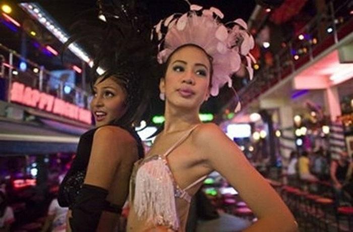 Rất khó để phân biệt gái mại dâm chuyển giới ở Thái Lan