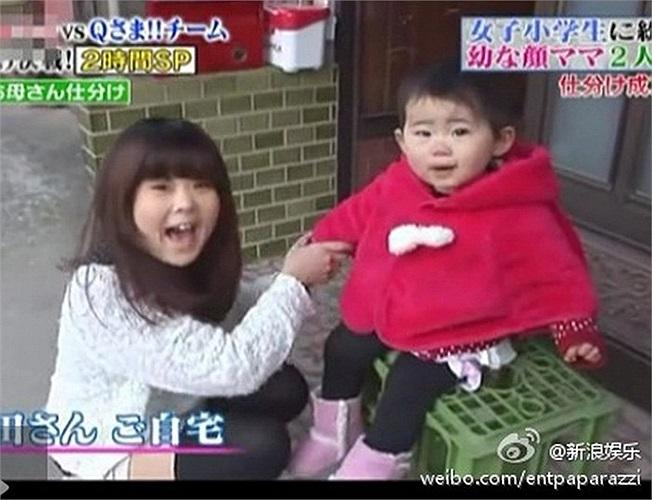 Bà mẹ trẻ con gây sốt ở Nhật Bản