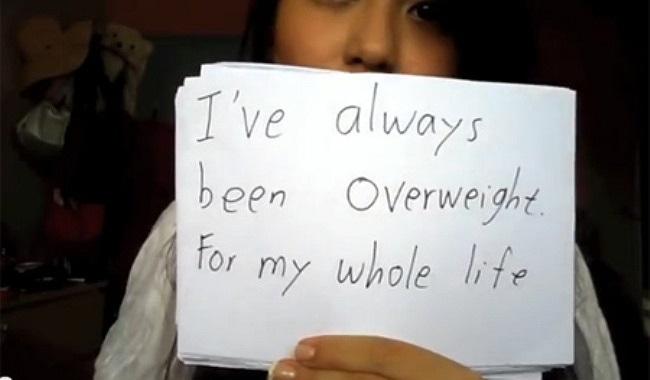 Cô cho biết: Trọng lượng của tôi luôn quá khổ so với những người bình thường, đặc biệt là khoảng thời gian giữa năm 2010, tôi trở nên bị béo phì.