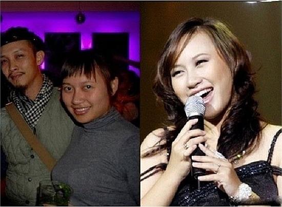 Nữ ca sỹ Khánh Linh.