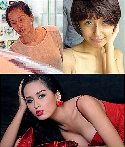 Hoa hậu Việt Nam Mai Phương Thúy. Theo Báo Lao động.