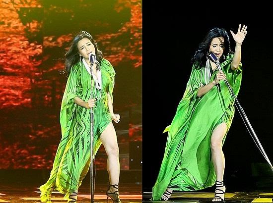 Gu thời trang của Thanh Lam luôn tỷ lệ nghịch với giọng hát của mình.