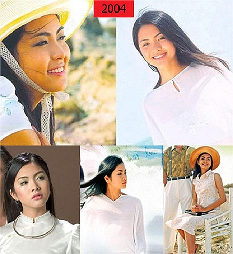 Thuở mười tám đôi mươi, Tăng Thanh Hà sở hữu vẻ đẹp mộc mạc, thơ ngây.