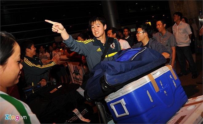 Các cầu thủ U19 Nhật Bản muốn nhanh chóng về khách sạn nghỉ ngơi.