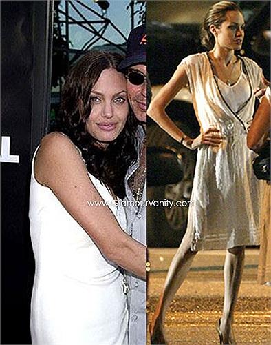 So với hình ảnh đầy đặn, căng tràn sức sống tuổi đôi mươi, hiện giờ Jolie thật đáng thương.