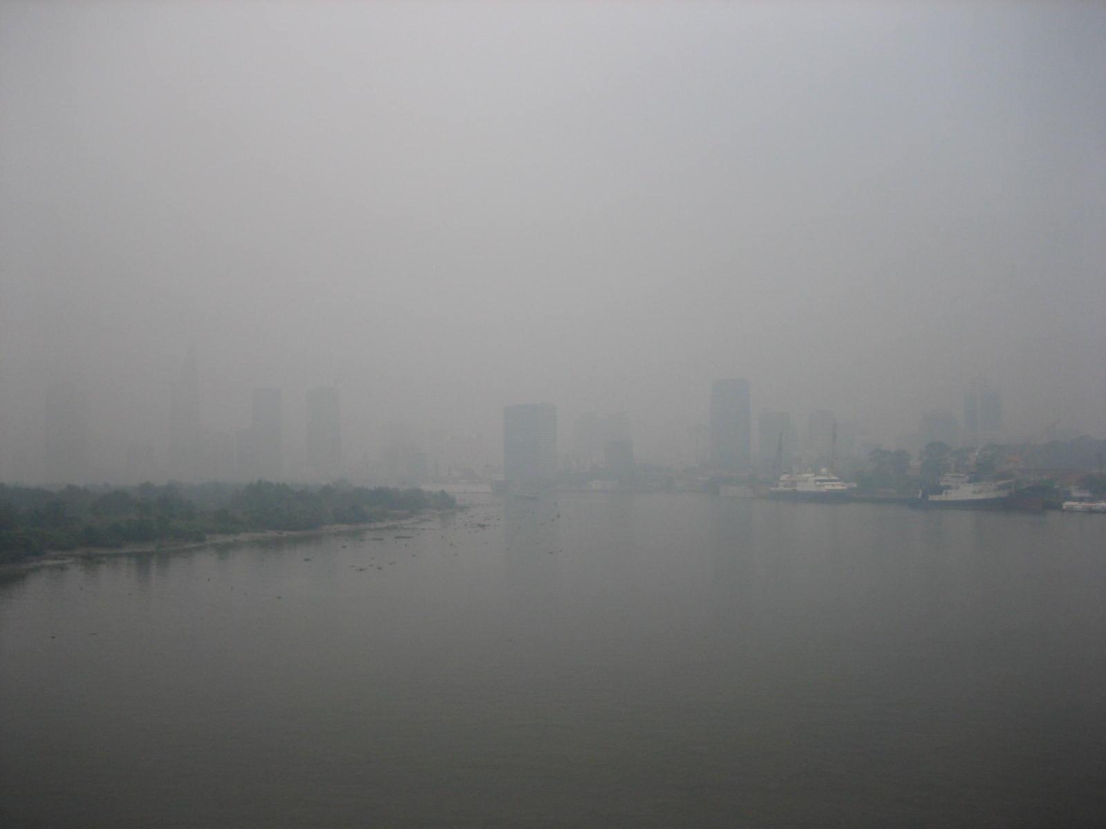 TP.HCM, sương mù, thời tiết, ngày 14/12, bao phủ, đường phố,