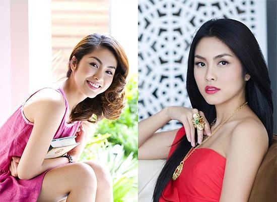 Ngọc nữ làng điện ảnh Tăng Thanh Hà sở hữu đôi gò bồng đào khá 'mi nhon'.