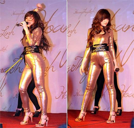 Hoàng Thùy Linh dẫn đầu top nghệ sỹ diện jumpsuit phản cảm.