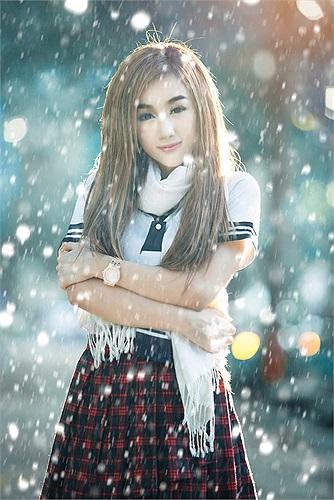 Có lẽ đây là hình ảnh hóa trang thành 'nữ sinh Nhật' đẹp nhất từ trước đến nay tại Việt Nam.