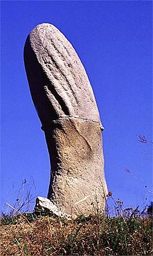 Điều mà cư dân trong làng đều biết, đó là đá Trovants chỉ lớn lên khi có mưa.